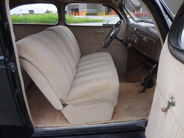 1937 plymouth p4 deluxe 2 door sedan auto restorationice. Black Bedroom Furniture Sets. Home Design Ideas