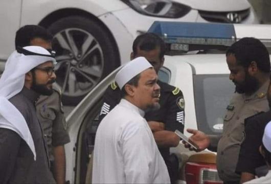 Saudi Marah Foto Pemeriksaaan Rizieq Viral di Indonesia