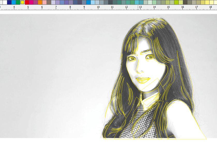 Vector Line Art Tutorial Corel Draw ~ Komputer Tuts