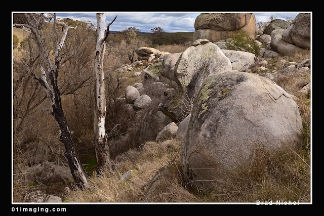Pejar Creek NSW Landscape, Rocks and Boulders crop 6