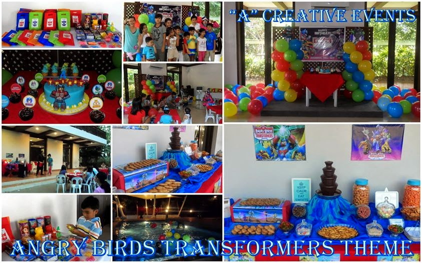 Transformers birthday party theme davao city