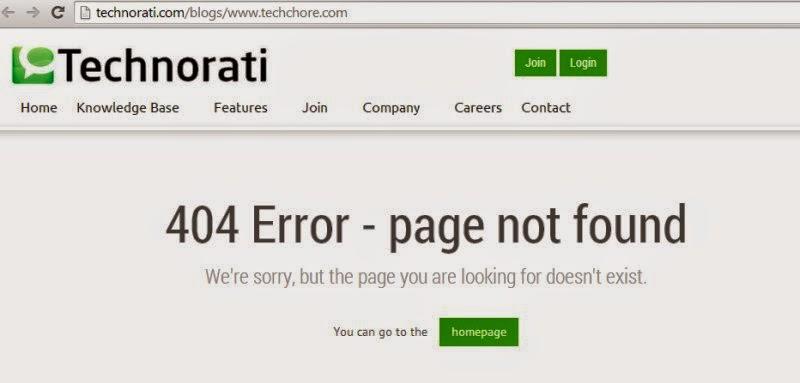 technorati relaunch