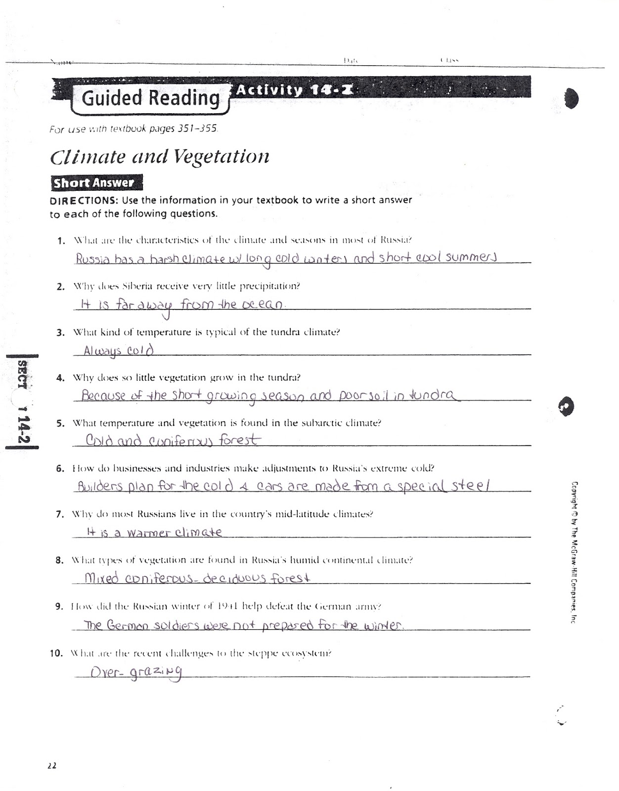 Guided Reading Activity 3 4 Us History