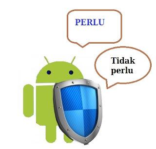 Penggunaan antivirus smartphone android
