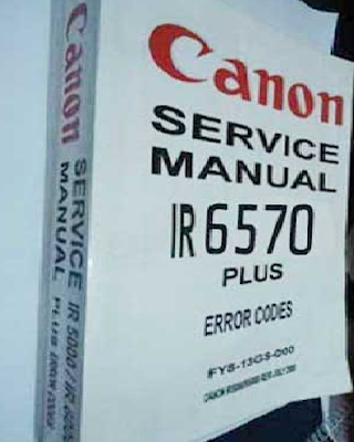 Kode Error Mesin Fotocopy Canon iR 6570