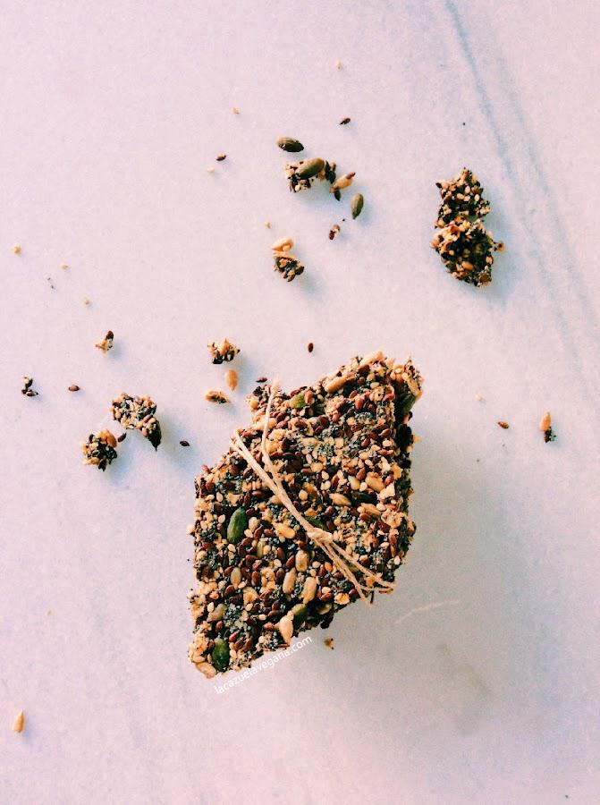 Crackers de semillas