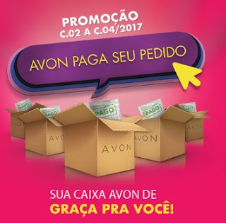 Promoção Avon 2017 Paga Seu Pedido