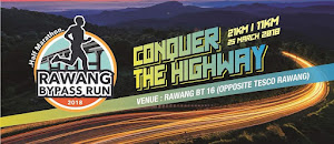 Rawang By Pass Half Marathon 2018 - 25 March 2018