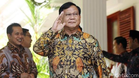 Melesat di Survei Alvara, Begini Respon Prabowo