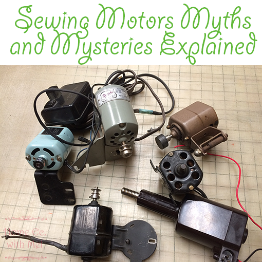 sewing machine motor mysteries