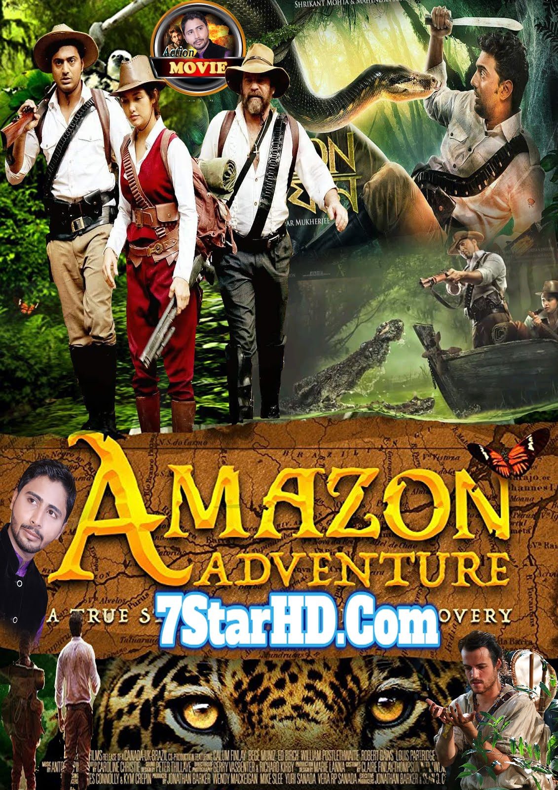 Amazon Obhijaan 2018 Bengali Full Movie 720p Bluray UNCUT 1GB & 350MB Download