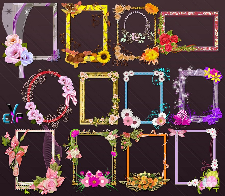 Decoration blossom frames png free download | Edit Your free pictures