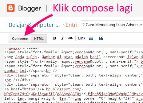 parse kode html