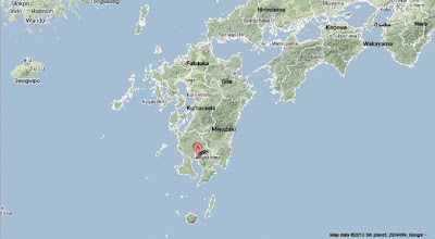 Sciency Thoughts Eruption On Sakurajima Volcano Japan - Japan volcano map