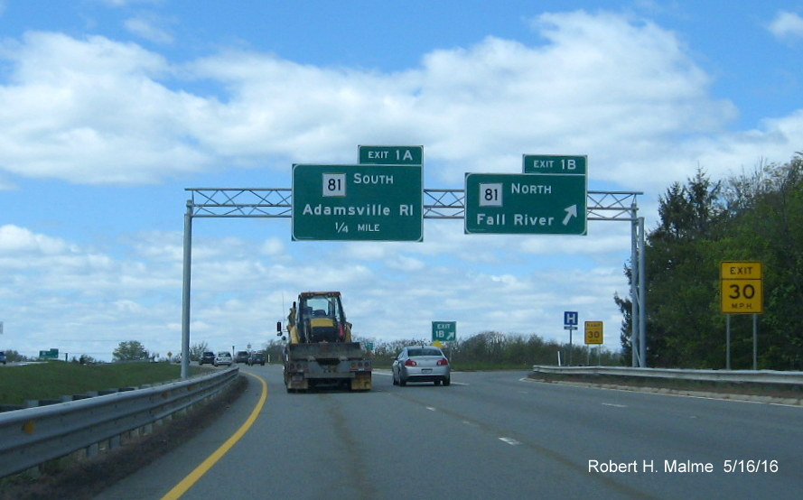 Kentucky Freeway Map%0A The last new overhead sign southbound  and in Massachusetts  is for MA     South       of a mile from the state line