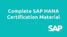 SAP HANA Material, ha100, ha200, ha900, ha450, ha400, ha300, ha350, ha360, SPS12