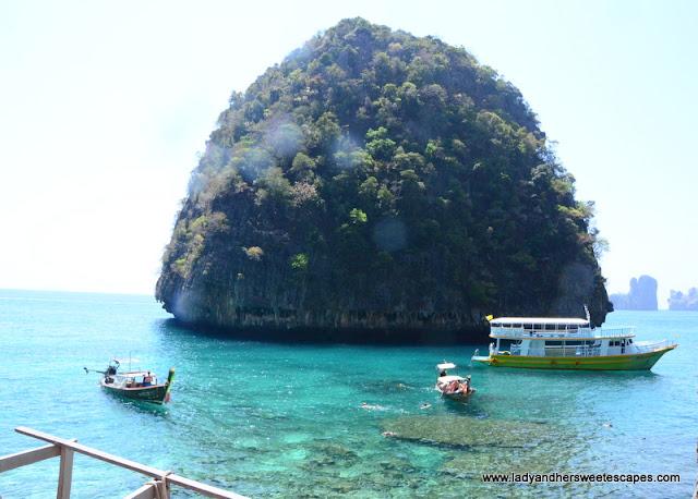 Maya Bay snorkeling area