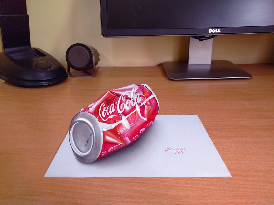 10-Coca-Cola-Nikola-Čuljić-2D-Anamorphic-Drawings-that-Look-3D-www-designstack-co