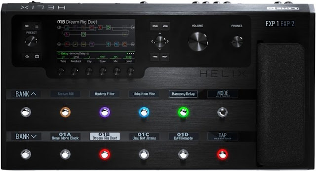 Line 6 Helix Guitar Multi-Effects Floor Processor