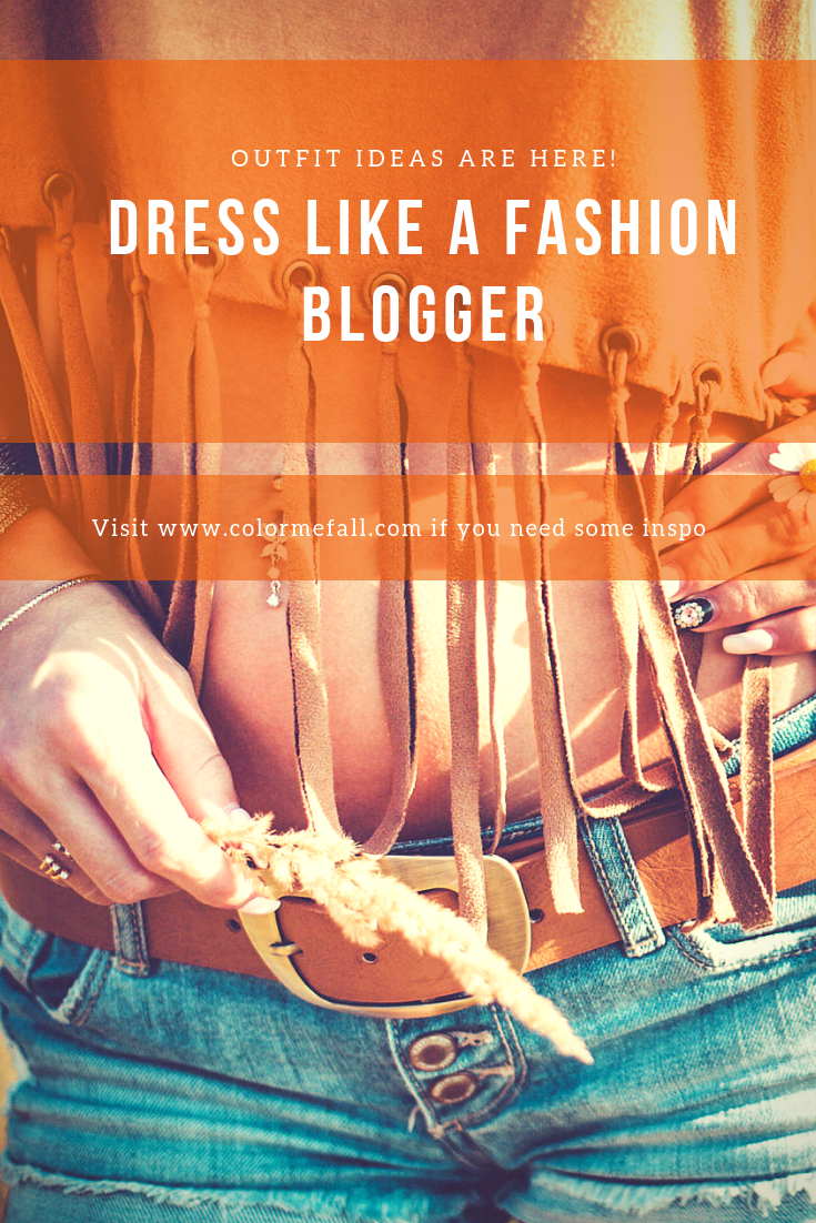 Dress Like A Fashion Blogger