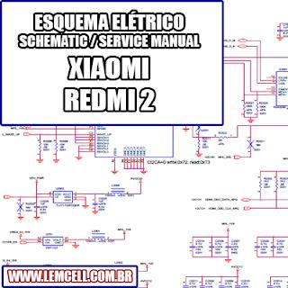 Esquema Elétrico Smartphone Celular Xiaomi Redmi 2 Manual de Serviço   Service Manual schematic Diagram Cell Phone Xiaomi Redmi 2      Esquematico Smartphone Celular Xiaomi Redmi 2