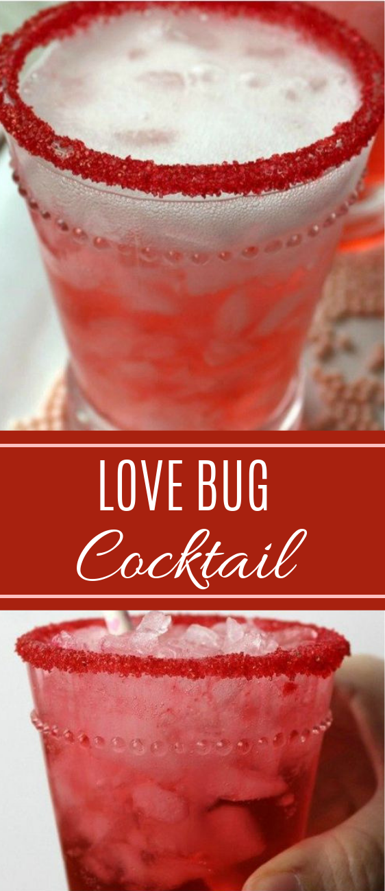 Lovebug Cocktail #easyrecipe #cocktails