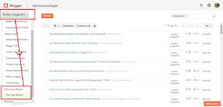 cara menghapus blog di blogspot secara permanen