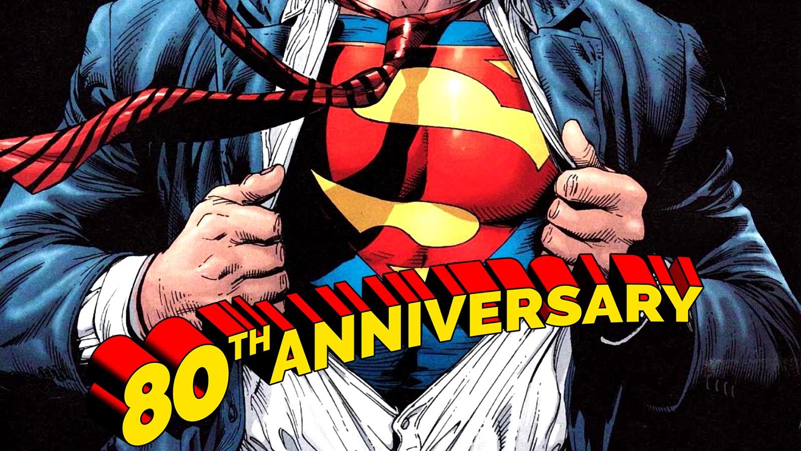 80 años de Superman: El Emblema - Crónicas Del Multiverso