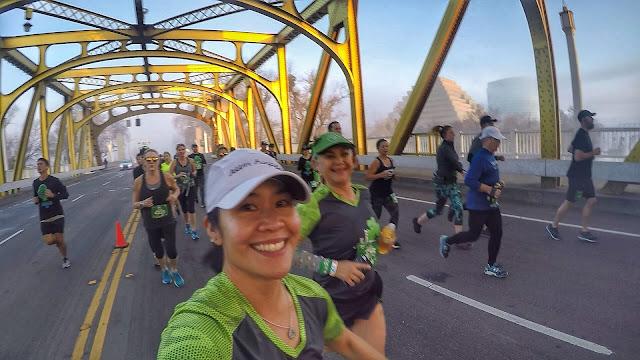 Running on Tower Bridge