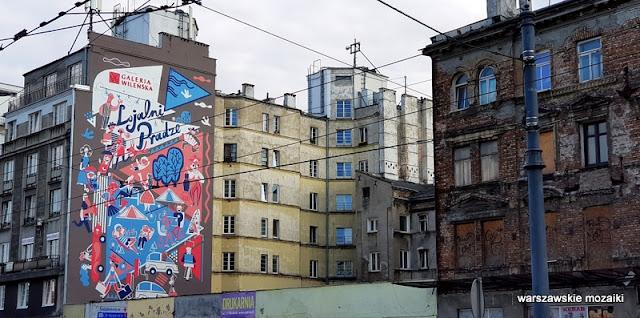 Warszawa Warsaw mural graffiti Praga Północ kamienica ulica streetart