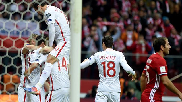 [Video] Cuplikan Gol Polandia 2-1 Armenia (Kualifikasi Piala Dunia 2018)