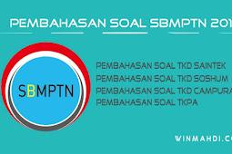 Pembahasan Soal SBMPTN 2018/2019