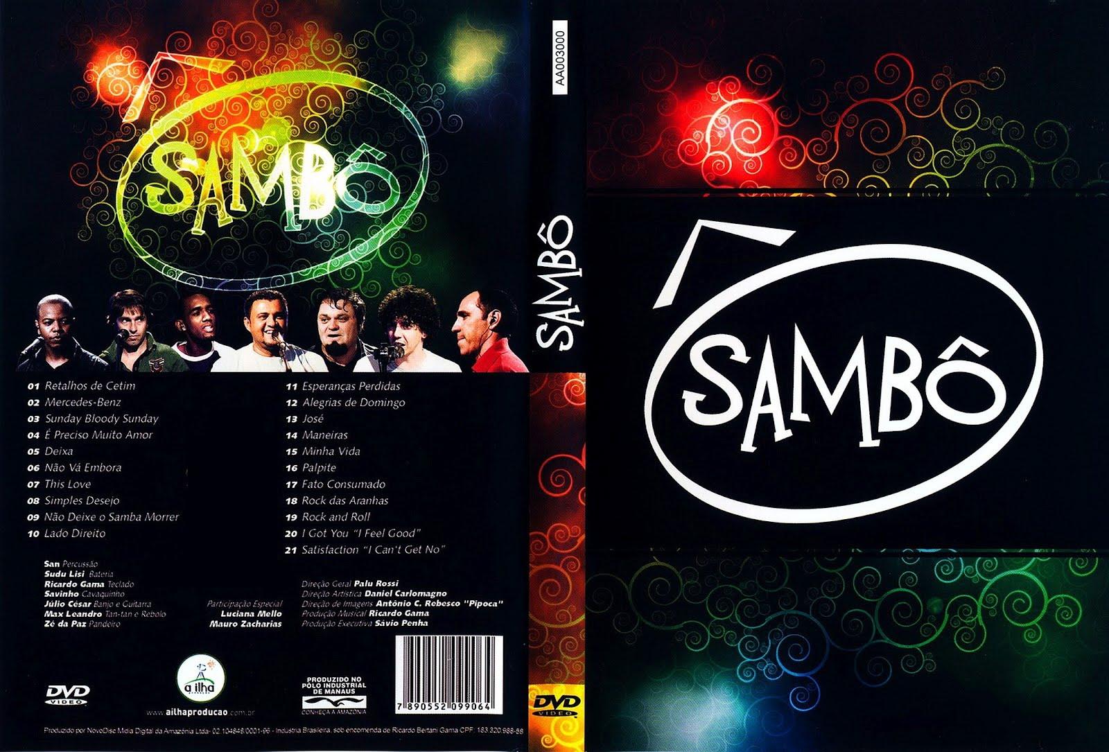 Baixar DVD Sambô – Ao Vivo (2012)