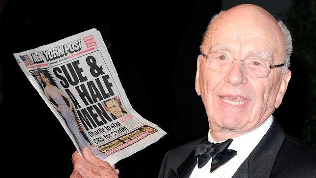 Biografi Rupert Murdoch, Sang Raja Media