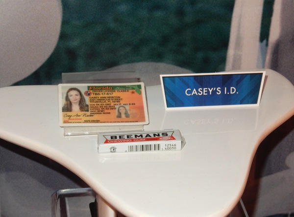 Tomorrowland Casey Newton Driver license prop