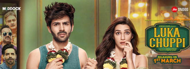 Bookmyshow – Pay Rs.100 to get Luka Chuppi movie voucher worth Rs.199