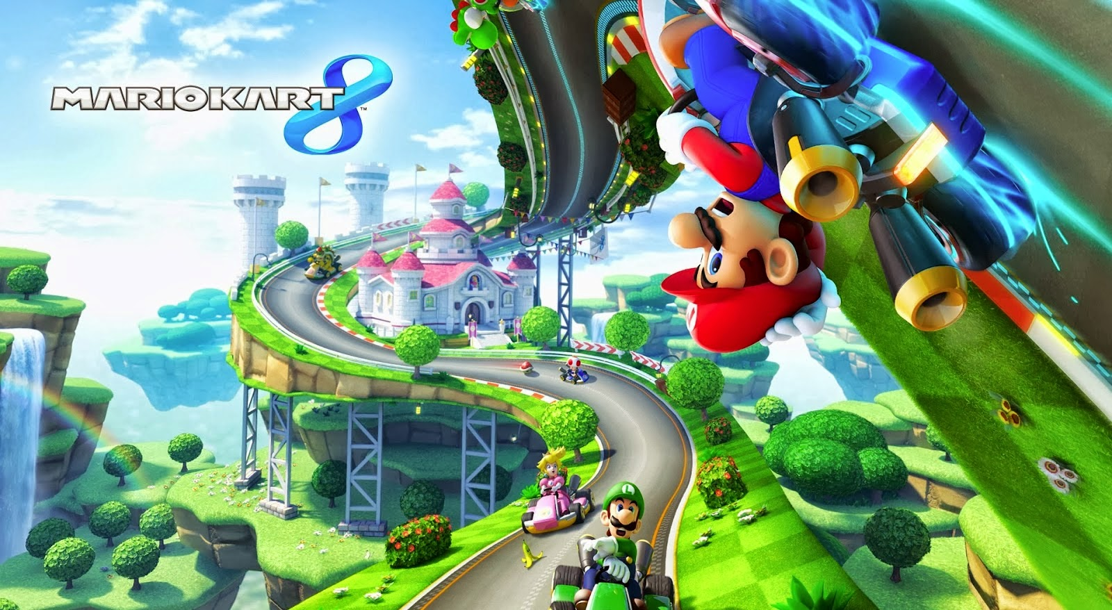 Mario Kart 8 Background: Mario Kart 8 Nintendo Wii U Review