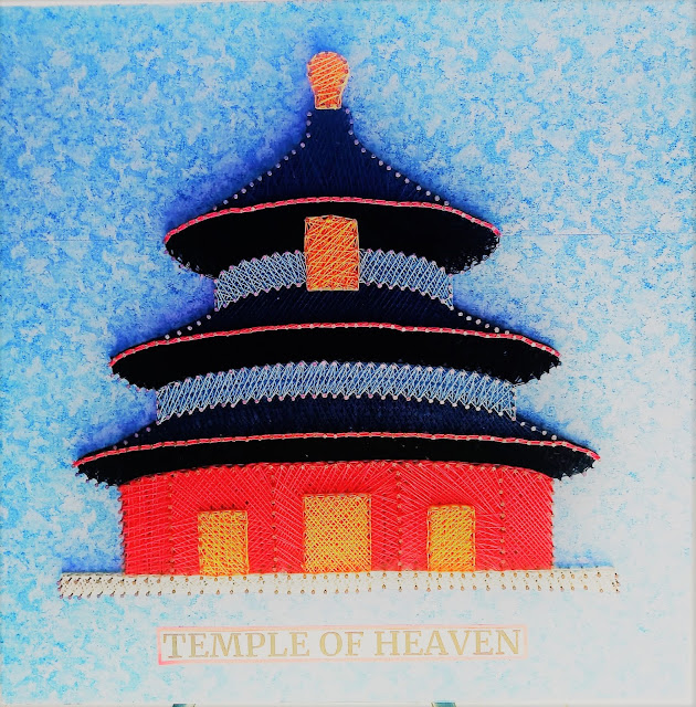 string art temple of heaven