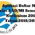 Aplikasi Daftar Nilai Kelas 2 SD/MI Semester 2 Kurikulum 2013 Tahun 2018/2019 - Ruang Lingkup Guru