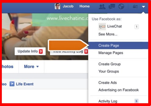 How to build a facebook business page