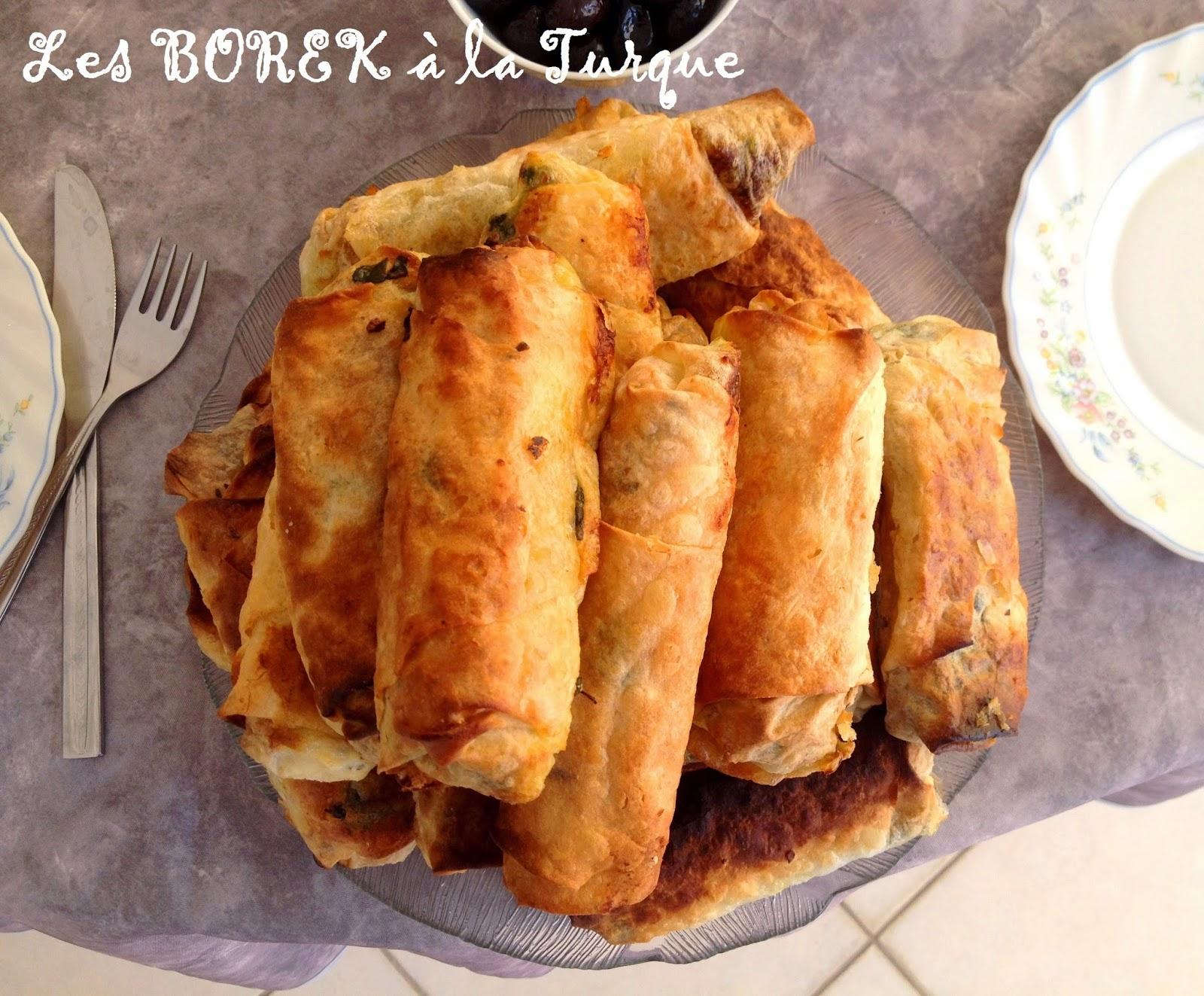 recette turque les borek au fromage et 233 pinards facile en image