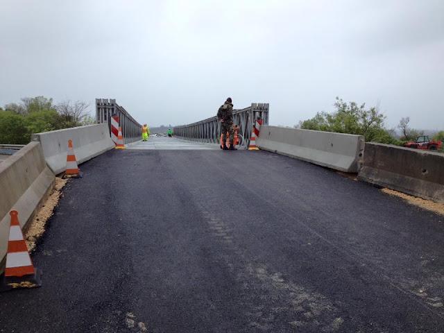 Ponte Militar já abriu