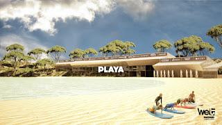 Playa articial con olas de Madrid, Wet Madrid, Wavegarden Madrid
