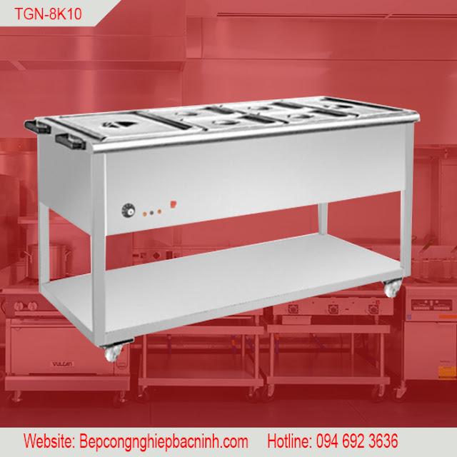 Bàn dưỡng nóng thức ăn 8 ô TGN-8K10