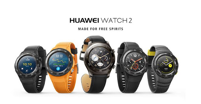 The Complete Smart #Fitness Watch Arrives with @HuaweiMobile WATCH 2 #MWC2017