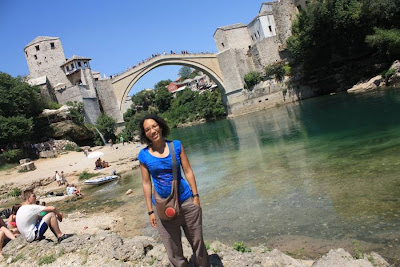 Stari Most and Neretva River in Mostar