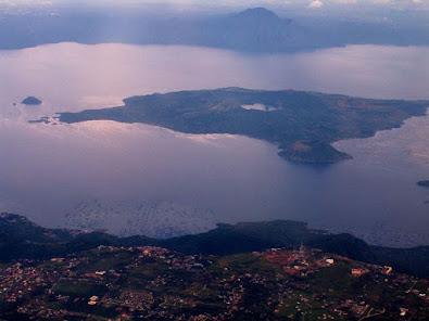 Ilha do Vulcao, lago Taal - Blog Mortalha