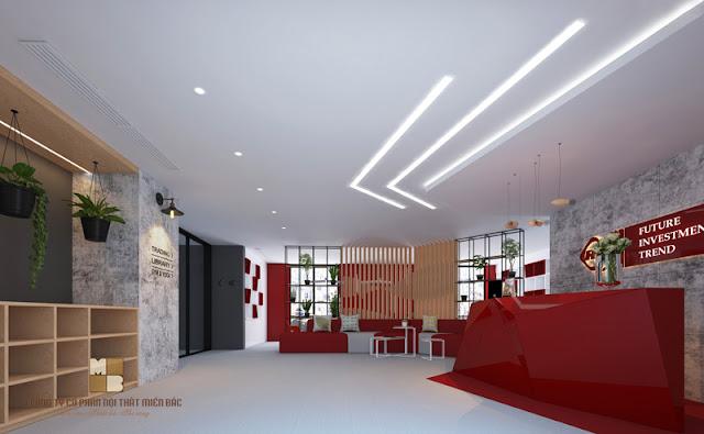 Tiết kiệm kinh phí khi thiết kế nội thất văn phòng hiện đại - H2