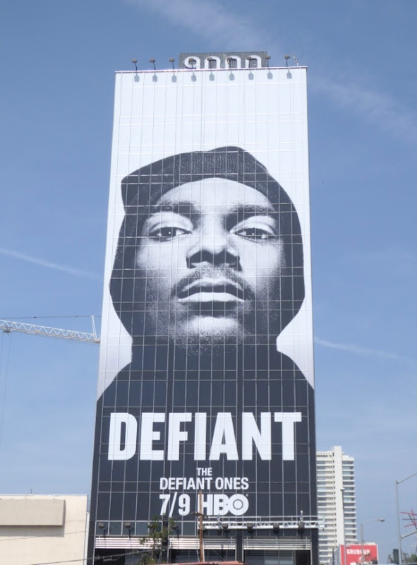 Giant Snoop Dog Defiant Ones billboard