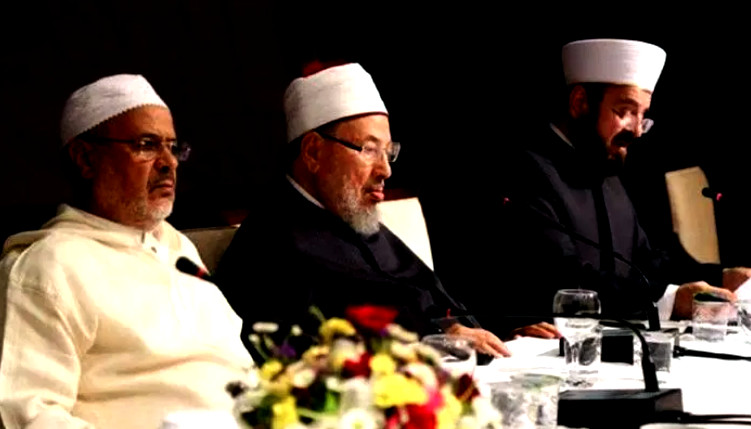 الريسوني يسقط القرضاوي من رأس اتحاد علماء المسلمين